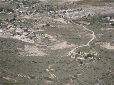 Inicio ruta desde Sierra Mediana