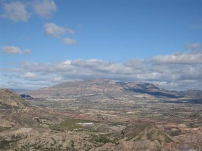 Sierra del Cid desde cima