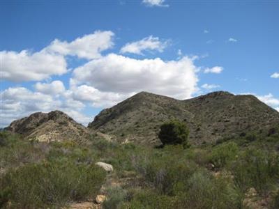 Sierra Mediana desde la zona del peñón